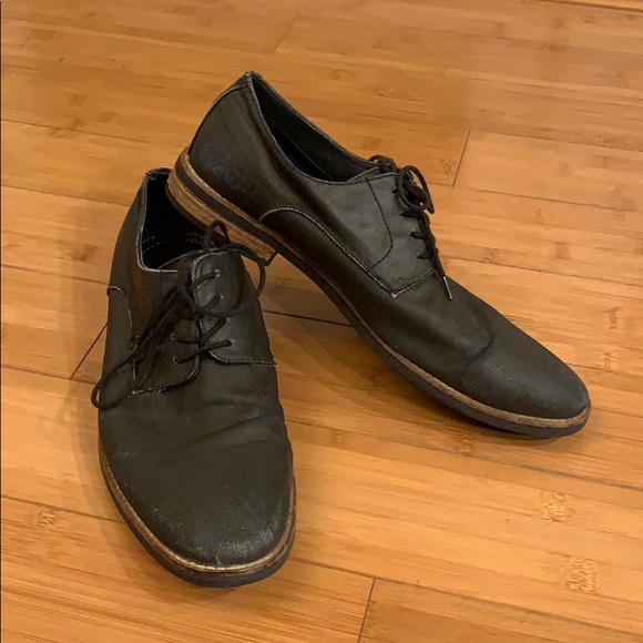 Mens Oxfordderby Dress Shoes Lace Up